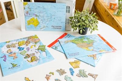 Карта-пазл Африка - фото 17294