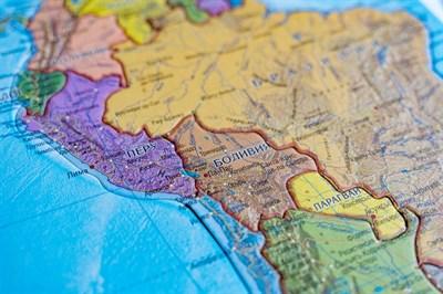 Карта-пазл Южная Америка - фото 17295