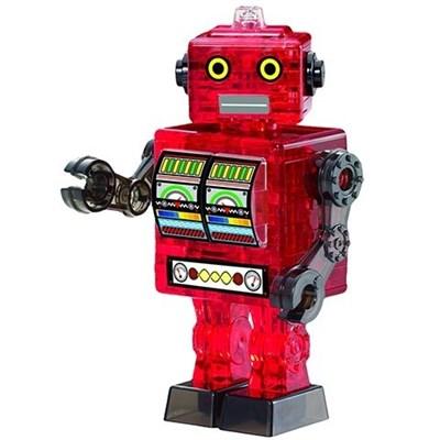 3D головоломка Робот красный - фото 5086
