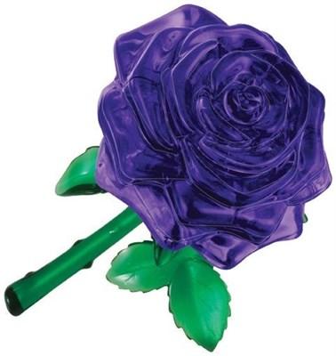 3D головоломка Роза пурпурная - фото 5122