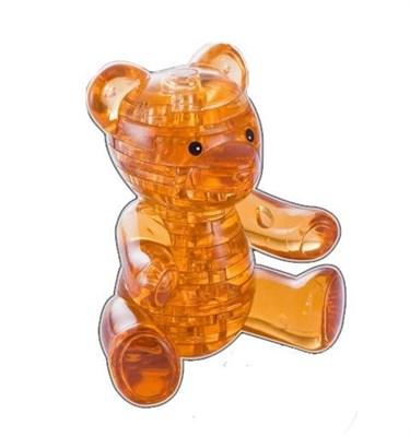3D головоломка Мишка янтарный - фото 5137