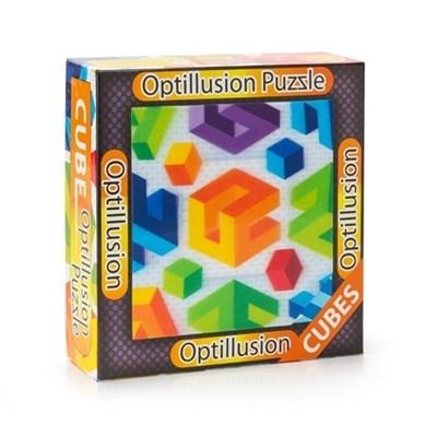 3D пазл-игра Оптические иллюзии Кубы - фото 5266