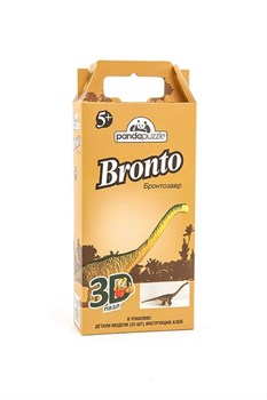 3D пазл Бронтозавр - фото 5300