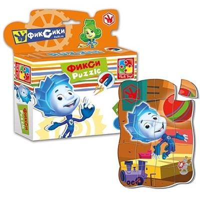 Магнитные пазлы в коробке Фиксики Нолик - фото 5326