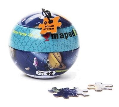 Пазл в металлическом шаре  - Солнечная система - фото 5347