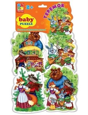 Мягкие пазлы Baby puzzle Теремок - фото 5364