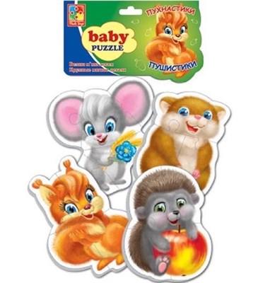 Мягкие пазлы Baby puzzle Пушистики - фото 5373