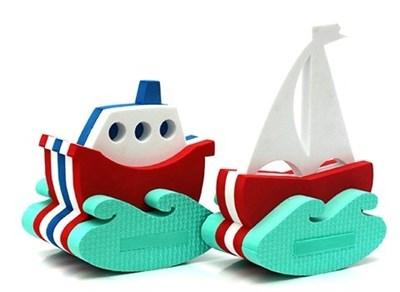 Игрушка-конструктор для купания Кораблик+ Парусник - фото 5383