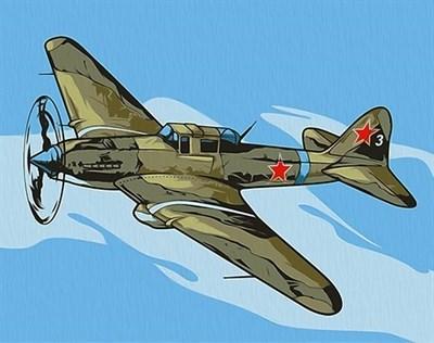 Картина по номерам Ил-2 Штурмовик - фото 5448