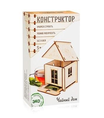 Деревянный конструктор Чайный дом - фото 5799