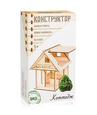 Деревянный конструктор Домик - фото 5800
