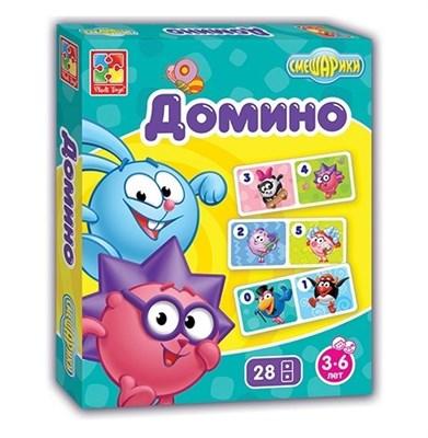 Игра настольная Смешарики Домино - фото 5940