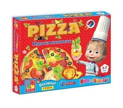 Игра на магнитах Юный повар Пицца - фото 5948