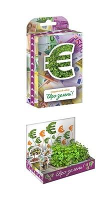 Подарочный набор Живая открытка  Евро-зелень - фото 6180