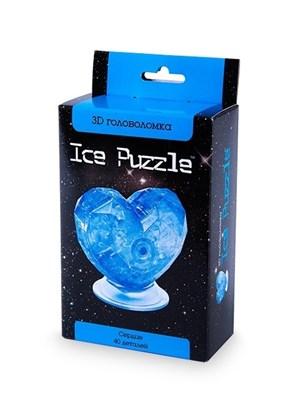 3D головоломка Ice puzzle  Сердце голубое 0-304 - фото 6302