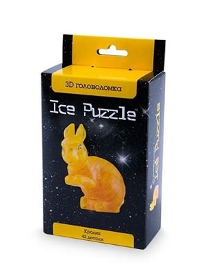 3D головоломка Ice puzzle Кролик золотой 0-113 - фото 6303