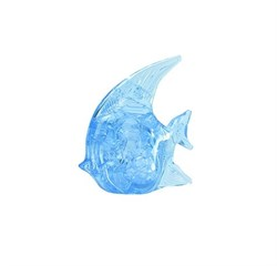 3D головоломка Ice puzzle Рыбка голубая XXL 00-38 - фото 6311