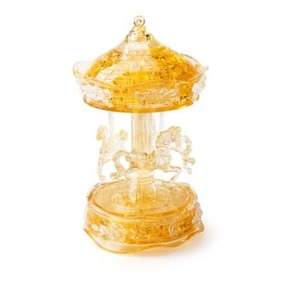 3D головоломка Карусель золотая - фото 6322