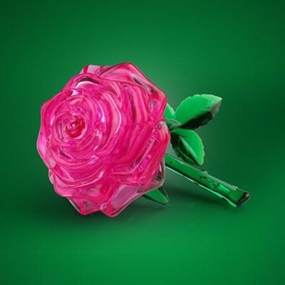 3D головоломка Роза розовая - фото 6432