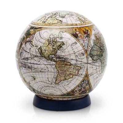 Шаровый пазл Старинная карта мира (240 деталей) - фото 6557