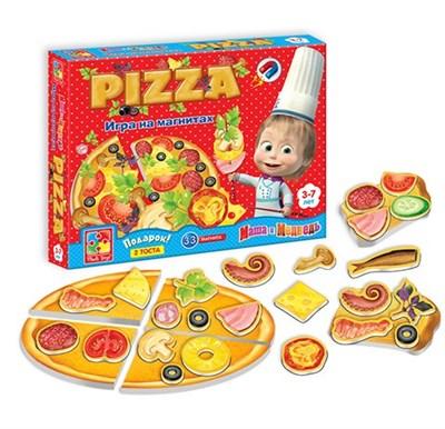 Игра на магнитах Юный повар Пицца - фото 6830
