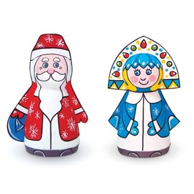 Набор Дед Мороз и Снегурочка Шар-папье - фото 7879