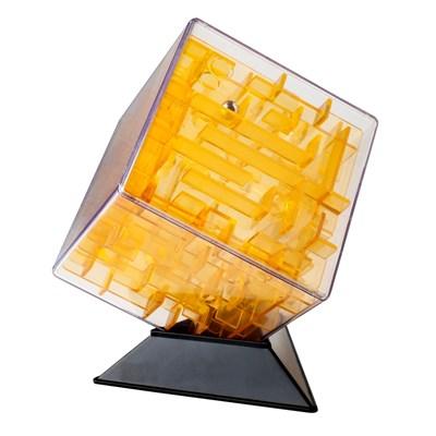 Лабиринтус Куб, 10 см, желтый - фото 8223