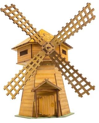 Деревянный конструктор Мельница. Последний богатырь - фото 8527