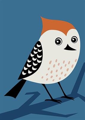Раскраска по номерам Птичка - Купить оптом в компании Бумбарам