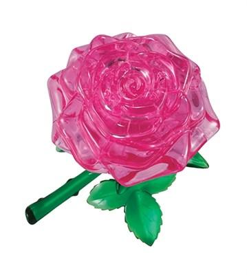 3D головоломка Роза розовая - фото 8663