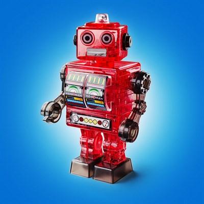 3D головоломка Робот красный - фото 8678