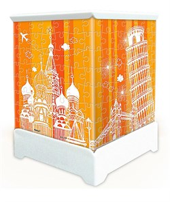 3D Пазл ночник Москва - фото 8706