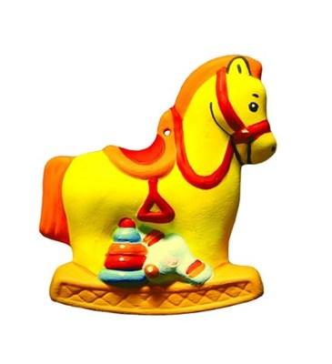 Фигура для раскрашивания из керамики Лошадка - фото 8789