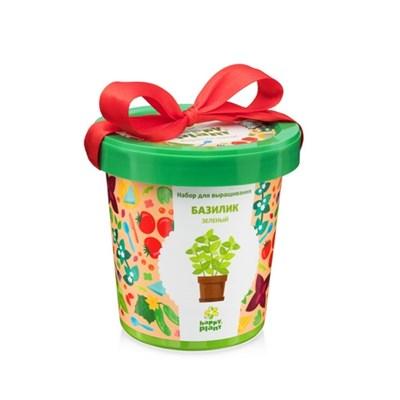 Горшок Базилик зеленый набор для выращивания - фото 8985
