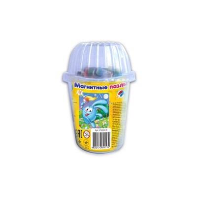 Мягкие магнитные пазлы в стакане Крош - фото 9394