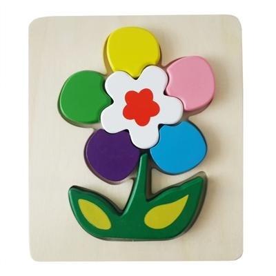 Пазл для малышей Цветочки - фото 9588