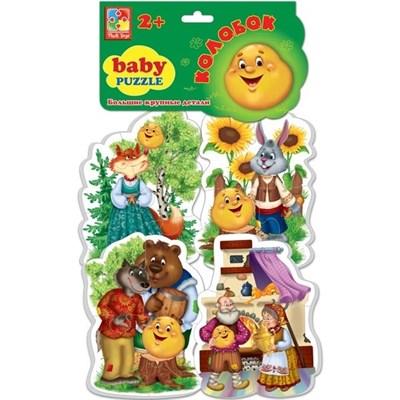 Мягкие пазлы Baby puzzle Сказки Колобок - фото 9642
