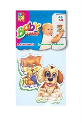 Мягкие магнитные Baby puzzle «Домашние любимцы» - фото 9769