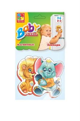 """Мягкие магнитные Baby puzzle """"Зоопарк"""" - фото 9771"""