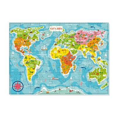 Пазл «Карта Мира» - фото 9802