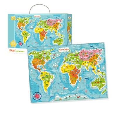 Пазл «Карта Мира» - фото 9803