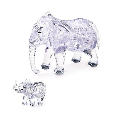 3D головоломка Два слона - фото 9945