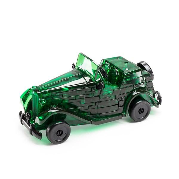 3D Головоломка Автомобиль зеленый