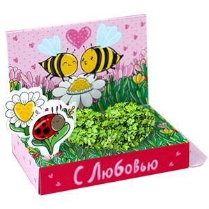 Подарочный набор Живая открытка С любовью!