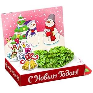 Подарочный набор Живая открытка Любви в Новом году