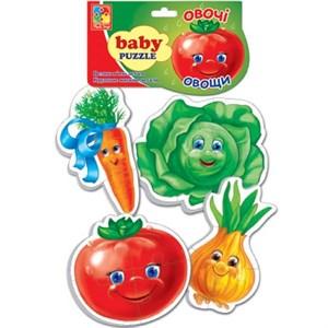 Мягкие пазлы Baby puzzle Овощи