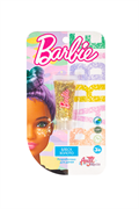 Детская декоративная косметика BARBIE. Блеск для лица Золото