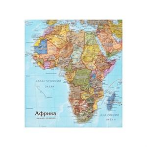 Карта-пазл Африка