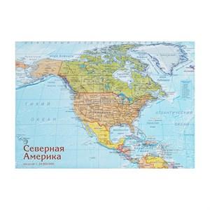 Карта-пазл Северная Америка
