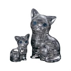 3D головоломка Кошка Черная